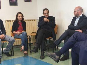 TOR BELLA MONACA: IL MINISTRO FONTANA HA VISITATO IL CENTRO MEDICINA SOLIDALE