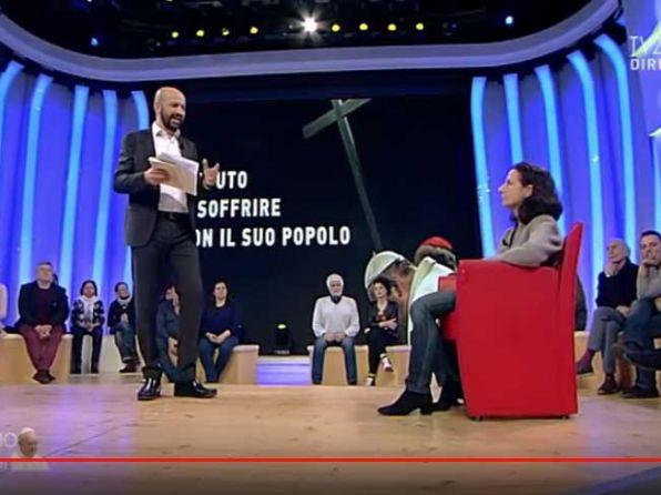 diario Papa Francesco … la Dott.ssa Lucia Ercoli di Medicina Solidale a TV2000